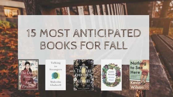 15 Fall Books to Look forward to